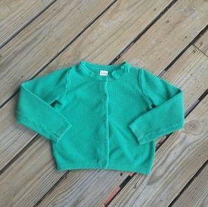 Gymboree Button Down Sweater